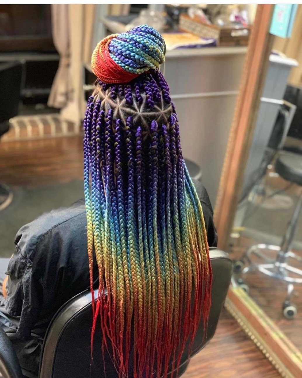Top 10 Box Braids Style To Try In The New Year 2020
